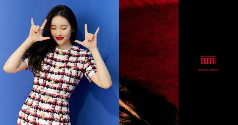 宣美释出新单曲〈尾巴〉曲目表!收录两首自创曲