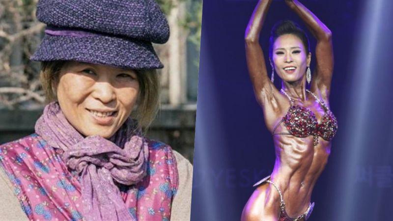 太厲害!在《鬼怪》飾演算命仙、鬼魂的49歲黃石正體脂減到4%參加健美大賽