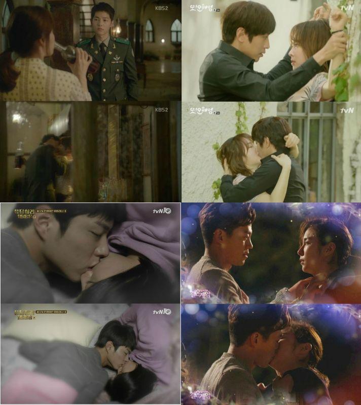 2016上半年韓劇的經典吻戲!你印象最深刻的是…?