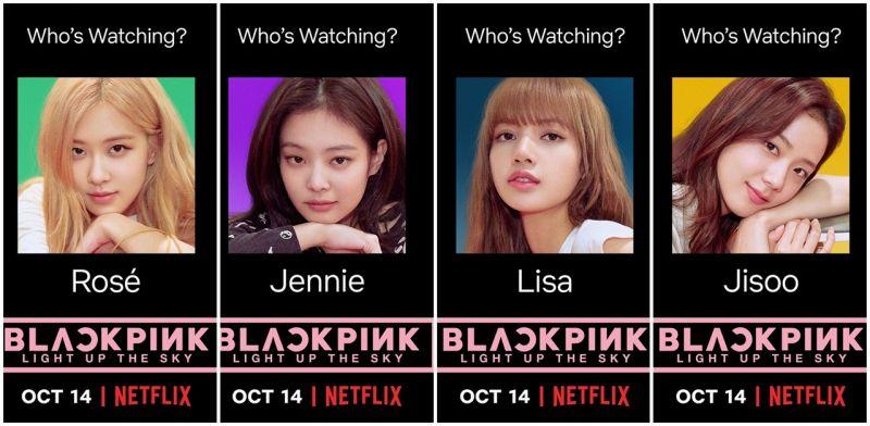 BLACKPINK的成名之路!纪录节目将在10月14日於Netflix向全世界公开!