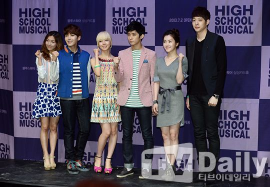 Super Junior厲旭、f(X) Luna攜手出席《歌舞青春》發佈會