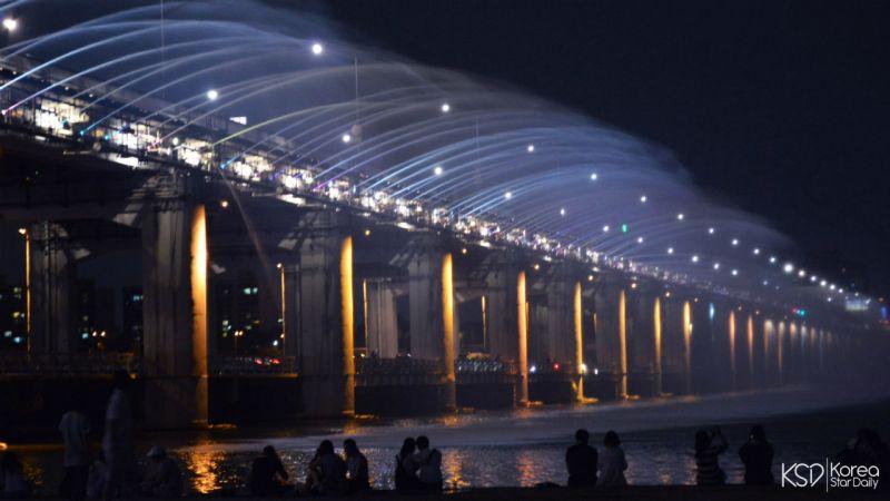 夏日來漢江,不能錯過的事(上)——月光噴泉