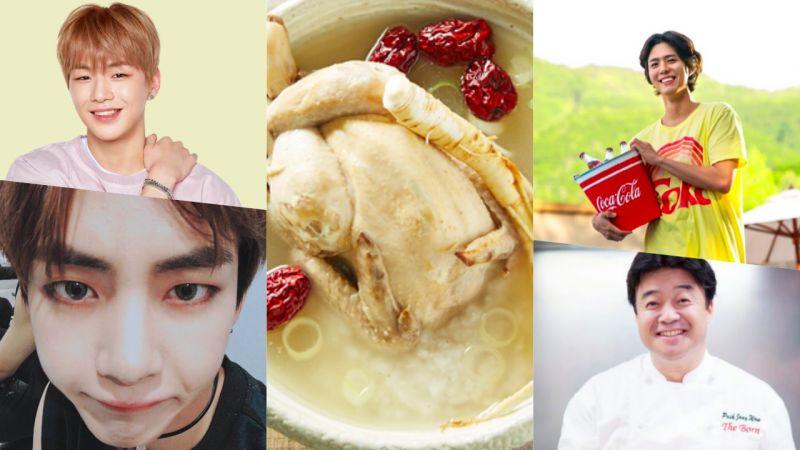初伏首日,你最想和哪位一起吃參雞湯?