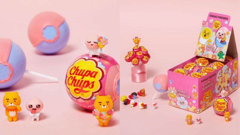Kakao Friends又再次與加倍佳聯名!推出了「情人節特別版」當中還有超可愛的公仔啊!