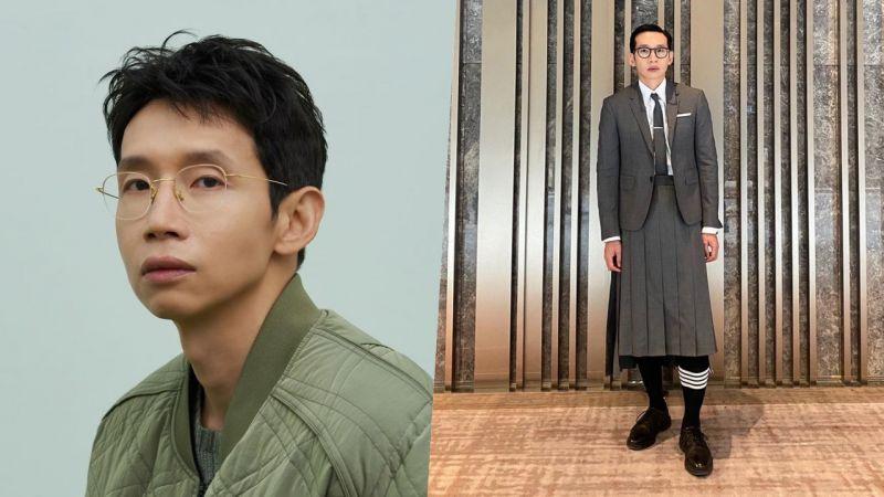 男生可以穿裙子嗎? 奉太奎穿百褶裙出席新劇發佈會被評「越線的時尚」,IG PO文回應獲讚!
