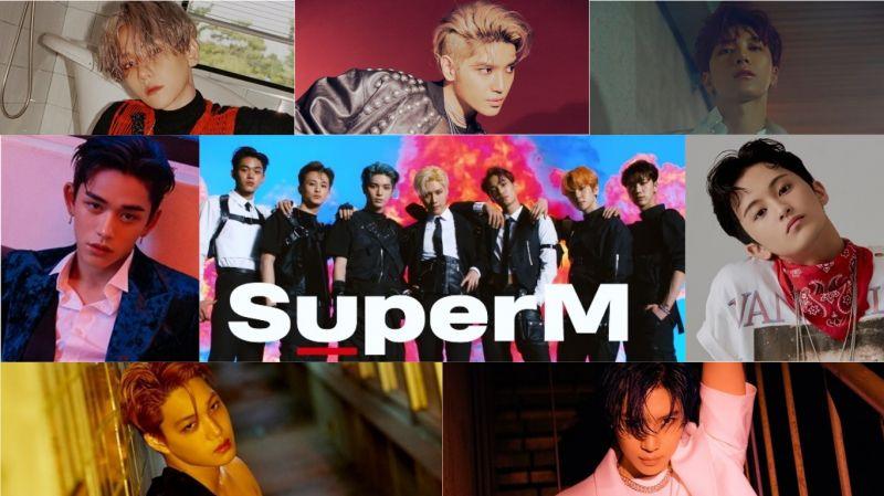 SuperM下月5日在美举行SHOWCASE并公开新曲舞台!7位成员近百张概念画报、影片一次看