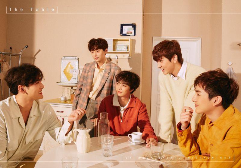 NU'EST新专辑《TABLE》个人及团体预告照公开! 暖暖的秋日男友❤