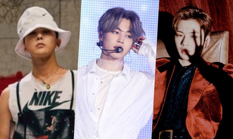 11月韓國愛豆個人品牌TOP 10:Jimin,GD,姜丹尼爾等
