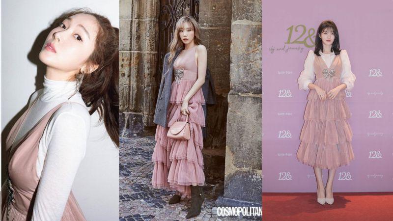 【撞衫不可怕系列】這條裙竟然奪得太妍&Jessica&辛睿恩三位女神的青睞?