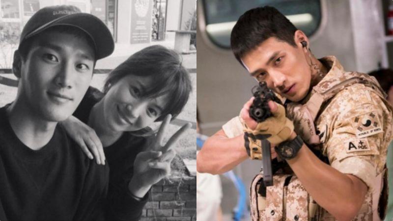 他在《太陽的後裔》拍攝時暗戀宋慧喬長達6個月!果然喬妹魅力無極限