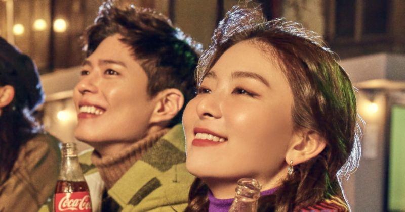 朴寶劍&Red Velvet Seulgi被選為可口可樂2020新年活動代言人