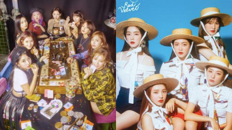 【有片】臺上Red Velvet唱得起勁臺下TWICE秒變迷妹:全程高舉手臂應援!