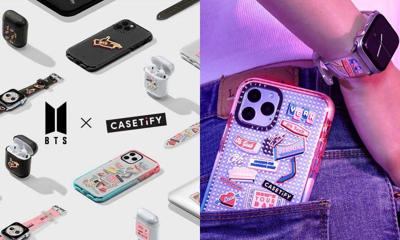 BTS防弹少年团合作款的手机壳&包包&手表带要来啦!19日全球同时发售