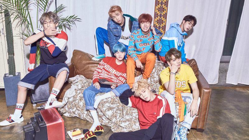 防弹少年团的无尽夺冠之路 蝉联《Music Bank》双周冠军!