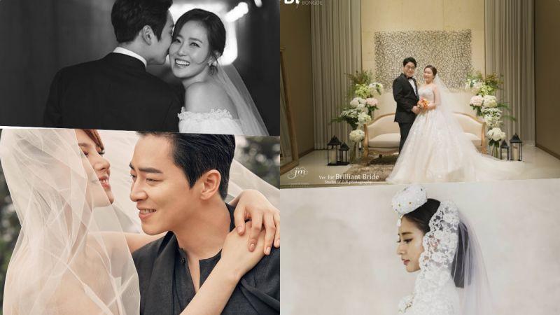 10月大婚的女星們:每一件婚紗都美得冒泡♥