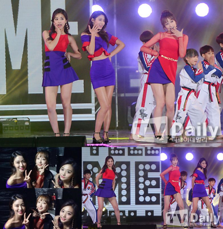 AOA雪炫、EXID Hani和TWICE子瑜献上特别舞台《Tell Me》&《Nobody》!