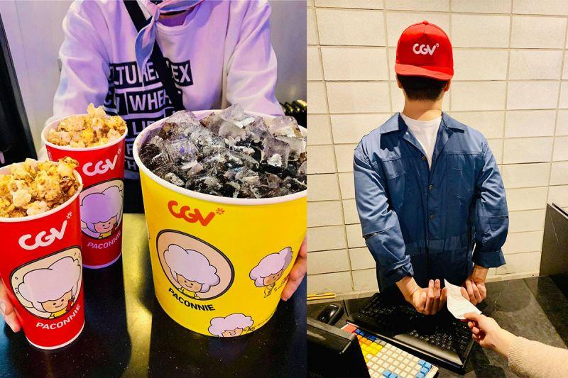 韩国CGV愚人节特别EVENT:看电影场外比场内欢乐!