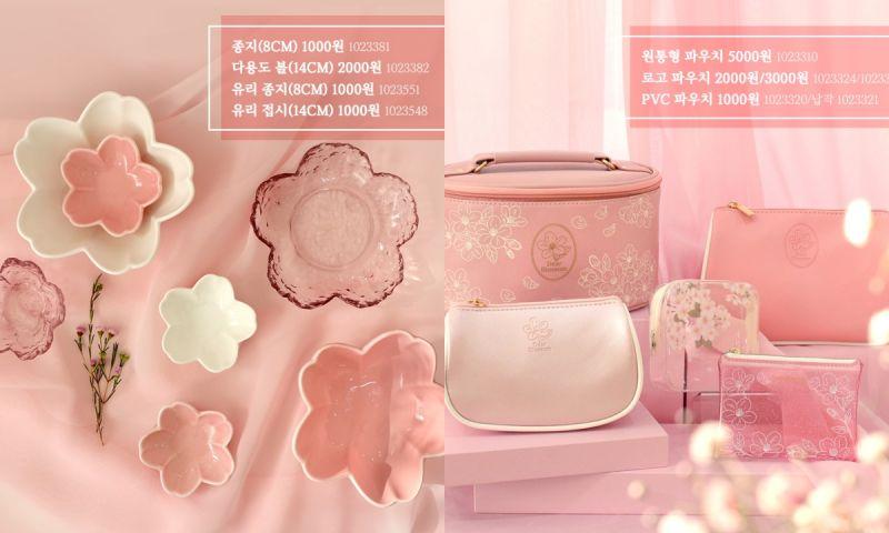韩国Daiso推出春季新品樱花系列:超多美丽商品令人疯狂心动♥