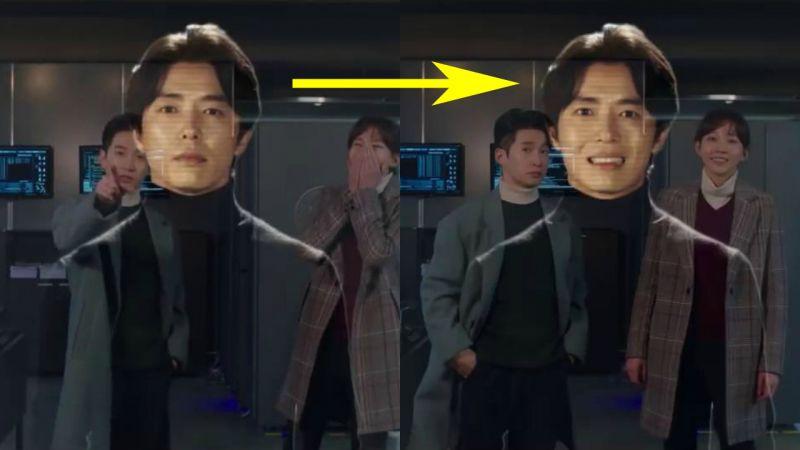 金材昱為柳德煥友情客串《神的測驗:重啟》,化身調皮的AI角色!
