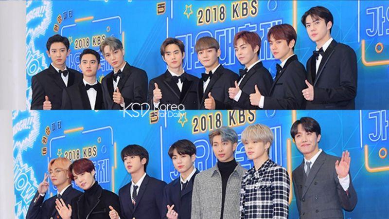 2018年末歌謠大戰:三大台 EXO、BTS 防彈少年團「壓軸事件」爭議,大家怎麼看?