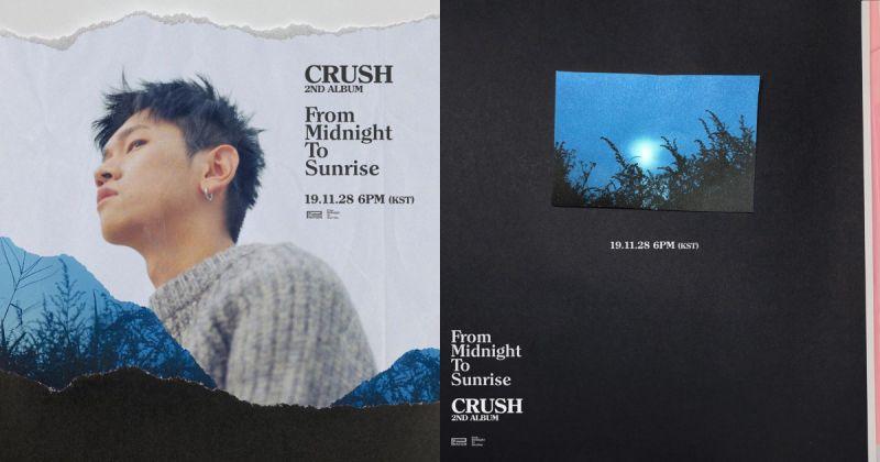 Crush 攜雙主打歌出擊 正規二輯本週發行!