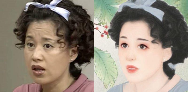 韓劇中的角色被美圖秀秀後出現視覺震撼:就連黑道都可以萌化!