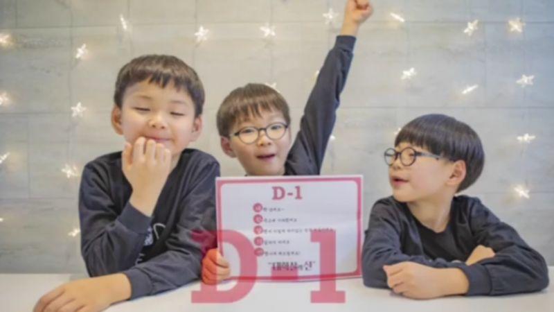 國民三胞胎3月成為小學生啦!爸爸宋一國:他們塊頭大,好害怕3人去打群架XD