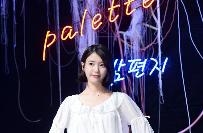 IU 結束活動仍繼續發威 再奪《Music Bank》冠軍