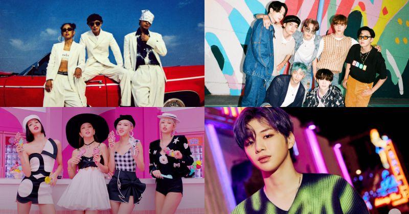 8 月 Gaon 榜單公開:BTS防彈少年團、SSAK3、姜丹尼爾分奪雙冠 BLACKPINK 蟬聯社群榜冠軍!