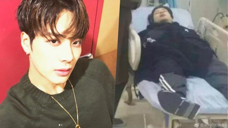 GOT7 Jackson因过劳晕倒住院! 目前已好转:「把3年的觉都睡回来了」
