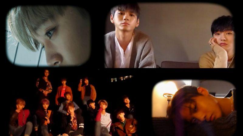 Wanna One新專輯概念回歸預告視頻公開 11人的未完青春