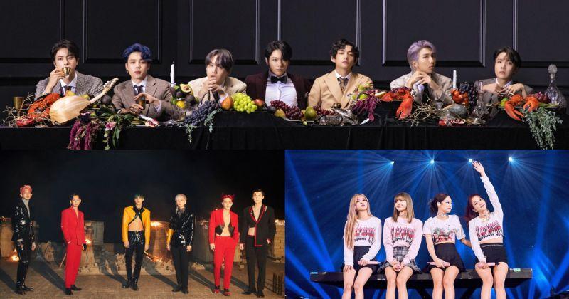 【百大偶像品牌评价】BTS防弹少年团、BLACKPINK 名次持平 EXO 重返前三名!