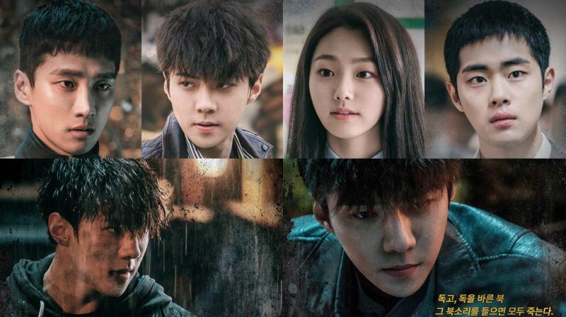 EXO世勋、gu9udan美娜等主演电影《独孤REWIND》公开最新海报!下月7日上映