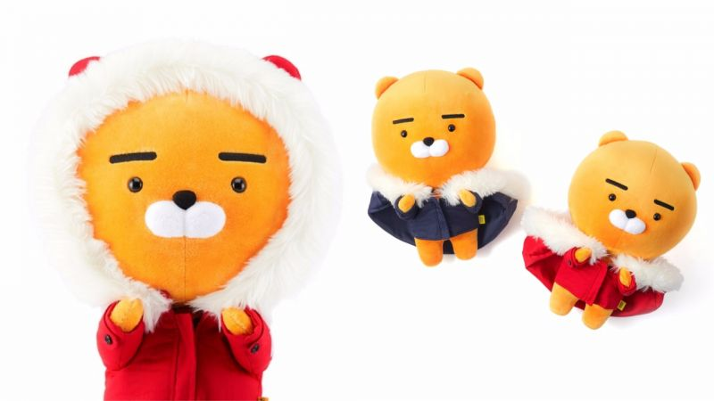 「KAKAO FRIENDS」聖誕節限定款來了!這次的Ryan穿上了羽絨外套啦!