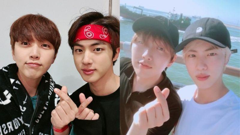 「92 Club」温暖的友情认证!B1A4灿多去看BTS防弹少年团演唱会,为好友JIN应援!