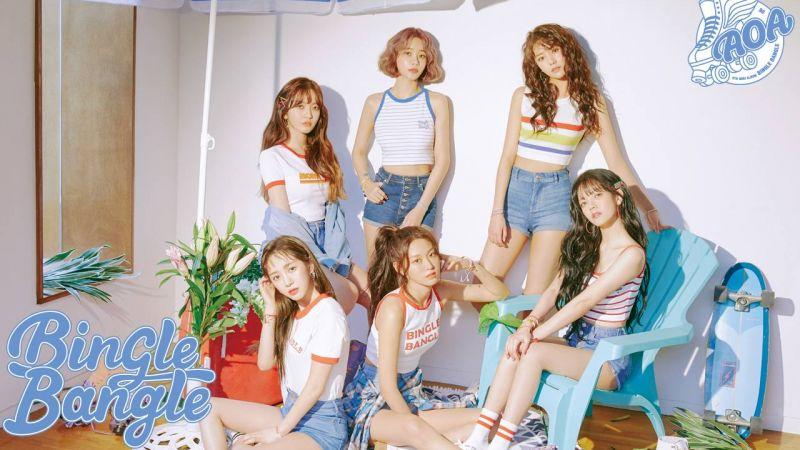 六人组 AOA 回归成功 睽违近三年终於要再开粉丝见面会了!