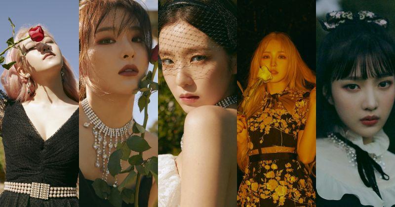 Red Velvet 五人概念照全數到齊 下週一回歸在即!