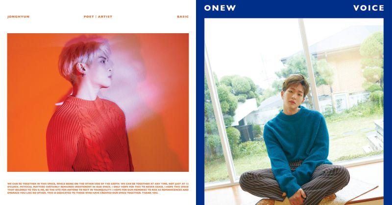 感人!SHINee 大哥 line 钟铉&温流 并肩征服 Gaon 单周榜榜首
