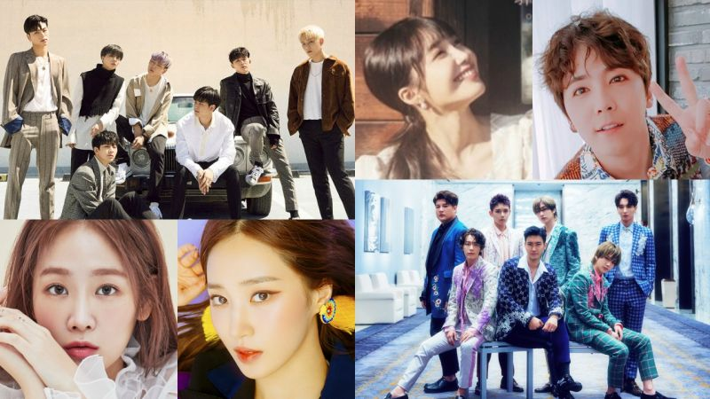 10月K-POP樂壇混戰一觸即發! 你期待誰的新歌呢?