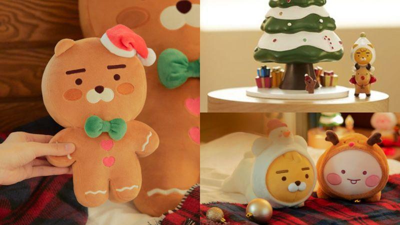 Kakao Friends 2019聖誕系列來襲:薑餅Ryan、魯道夫Apeach...超值得入手!