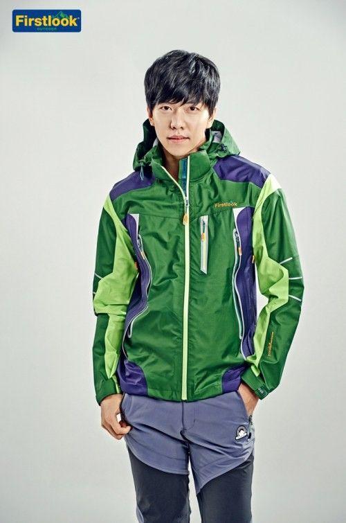 李昇基為戶外品牌Firstlook拍攝代言照