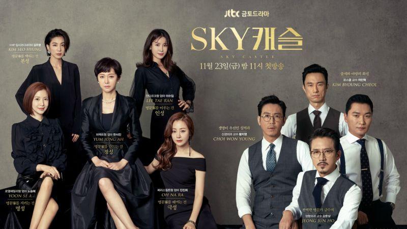 《SKY Castle》表面講韓國高考教育,實際講知人知面不知心!