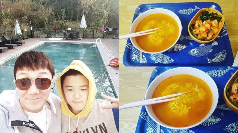 尹敏洙晒出儿子尹厚亲手为他准备的「爱心料理」却...遭到俊秀爸爸李钟赫吐槽 XD