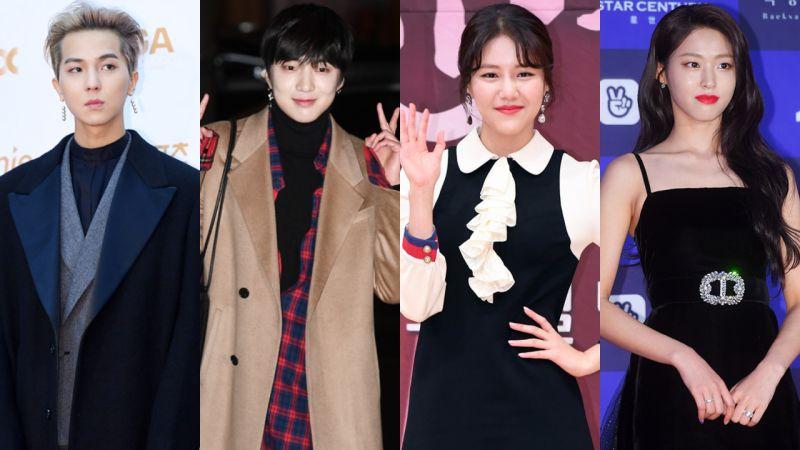 WINNER和AOA都來了! 宋旻浩&姜昇潤&雪炫&惠晶昨日錄製《RM》