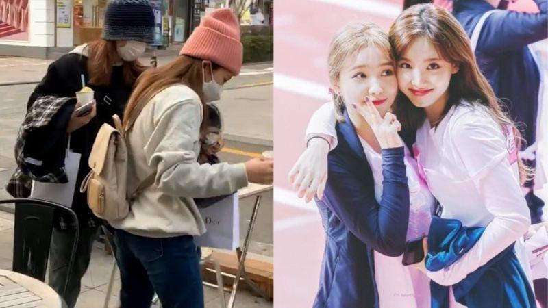 令人羡慕的友情!TWICE娜琏陪Red Velvet YERI去认证生日应援咖啡厅...还在外面等待她♥