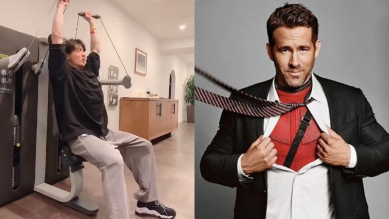 BTS防彈少年團柾國健身,「死侍」Ryan Reynolds點讚