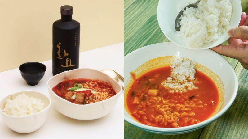 【K社韓文小百科】韓國人最愛的泡麵湯+飯!熱飯還是冷飯,這竟然是個科學問題