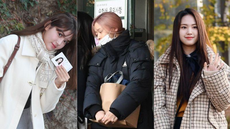 今日韩国高考:SOMI、ITZY留真等人参加!为了避免考生受到影响,听力考试全面禁止飞机起降!
