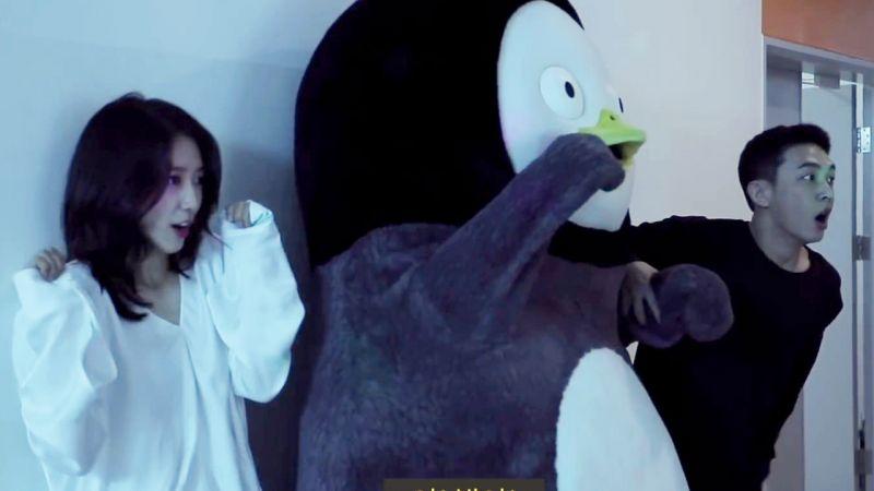 刘亚仁-朴信惠-PENGSOO爆笑上演「逃离跳舞僵尸」,谁能生存下来?