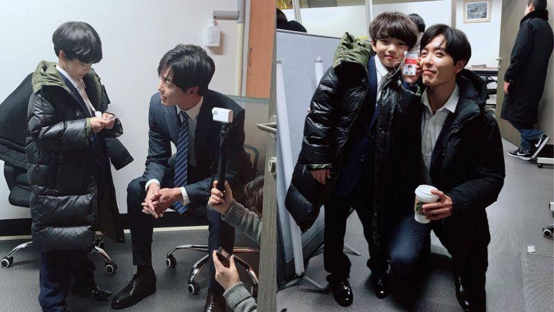 金材昱零片酬出演后辈的MV!私下面对小演员的样子,真的眼神里都是爱啊!